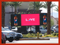 On Premise Promotions using LED mobile signs