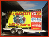 Mobile Billboards For Auctions