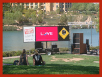 Jumbo Screen Rentals for special events