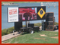 LED Screens for rent live feeds
