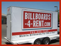 Mobile Signs For Outdoor Advertising